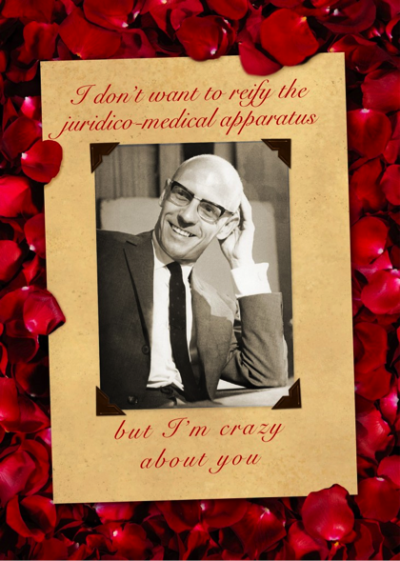 Culture Jamming through Critical Theory Valentines